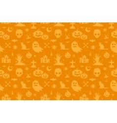 Halloween background seamless pattern vector