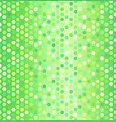 Glowing hexagon pattern seamless honeycomb vector