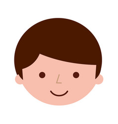 Young boy avatar character vector