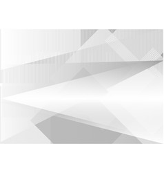 Gray abstract background triangle and straight vector