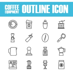 263outline coffee icon vector
