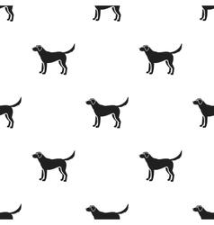 Labrador icon in black style for web vector