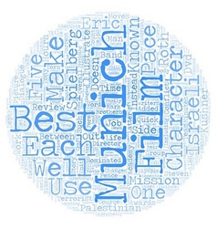 Munich DVD Review text background wordcloud vector image