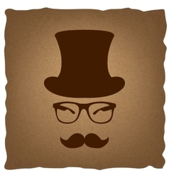 Hipster style accessories design vector