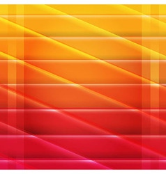 Colorful Red And Orange Poster vector image