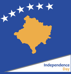 Kosovo independence day vector