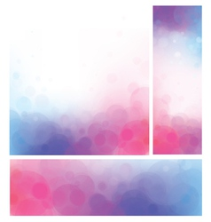 pink blue background vector image