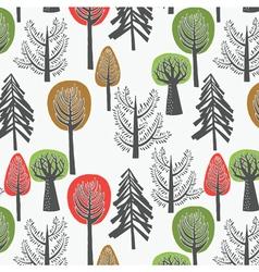 tree print design vector image