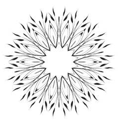 Leaves ornament pattern vector