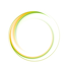 Colourful ring logo vector