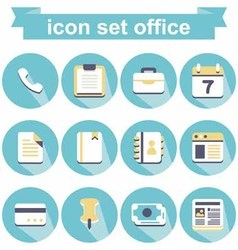 Icon office vector