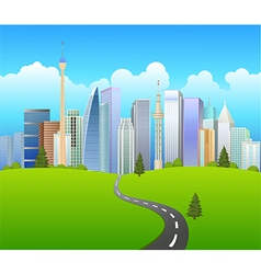 Traveling background vector