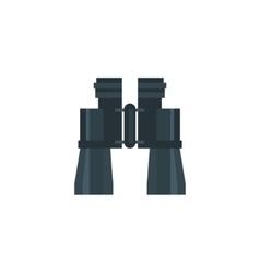 Binocular field glasses flat icon vector