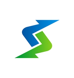 Arrow abstract direction logo vector