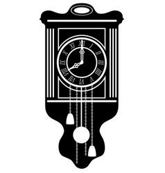 clock old retro vintage icon stock vector image vector image
