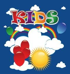 kids 1 vector image vector image