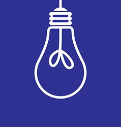 Lightbulb off vector