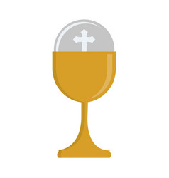 first communion design vector image