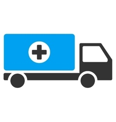 Drugs shipment icon vector