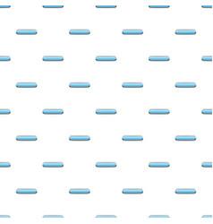 Light blue rectangular button pattern vector
