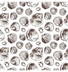 Shell hand drawn vector image