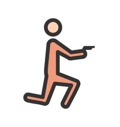 Criminal heist vector