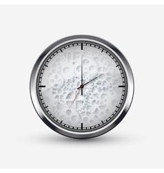 Modern watch icon on white background vector