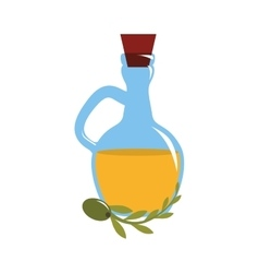 Olive oil icon vector