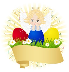 symbol of Easter vector image