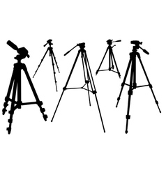 Tripods vector