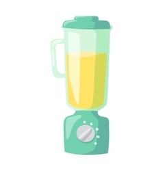 Apparatus for cooking soup kitchen blender vector