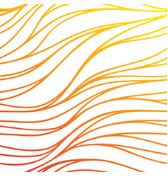 Color wave sunny background gradient red abstract vector