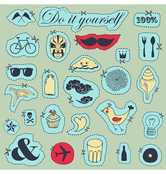 Do it yourself vector image vector image