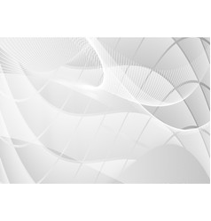 Gray abstract waves straight line background vector