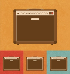 Guitar Amplifier vector image vector image