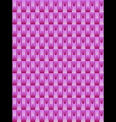 Pink texture geometric seamless background vector image