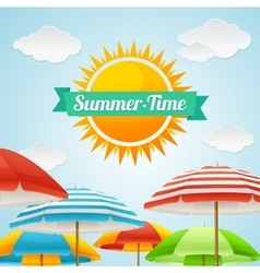 Summer Card vector image