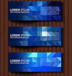 Textural banners in grunge style eps 10 vector