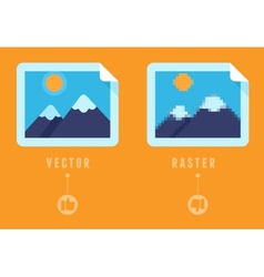 Raster vs concept vector