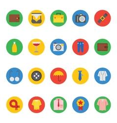 Fashion icons 3 vector