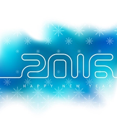 hny a vector image vector image