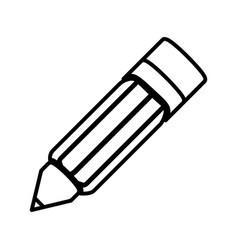 Pencil art japanese antique writing culture line vector