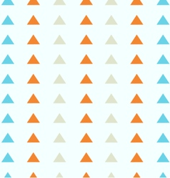 Triangles pattern colorful vector