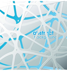 Abstract blue and white mash with place for your vector image
