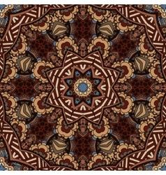 Tribal vintage ethnic indian ornamental design vector image