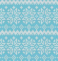 Beautiful seamless norway pattern vector
