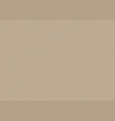 cardboard stripped background vector image vector image