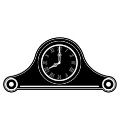 clock old retro vintage icon stock vector image
