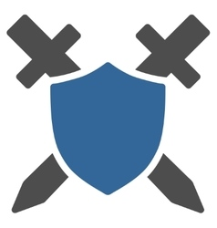 Guard Icon from Commerce Set vector image