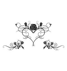 Tattoo black image vector